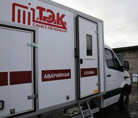 В двух районах Петербурга в четверг протестируют трубы