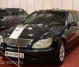 ФСО: Путин никогда не ездил на лимузине Mercedes-Benz Pullman