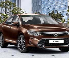 Toyota начала в России продажи обновленного седана Camry для чиновников