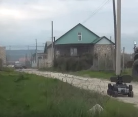 СК показал видео с места ликвидации боевиков в Дагестане