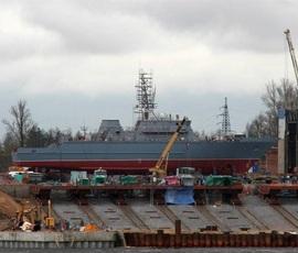 В Санкт-Петербурге спустят на воду противоминный корабль нового поколения