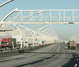 Съезд с КАД на Гостилицкое шоссе закроют 29 апреля