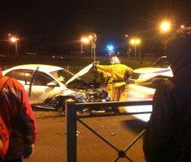 На Петергофском шоссе – массовое ДТП с пострадавшими