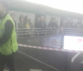 """В Петербурге закрыто метро """"Невский проспект"""""""