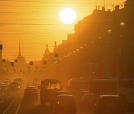Четверг порадует жителей Петербурга теплой погодой