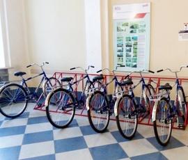 На вокзалах Зеленогорска и Царского села открыли велопрокаты