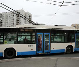 В Кировском районе маршруты троллейбусов изменят на 9 мая
