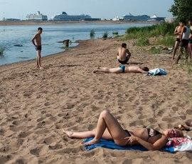 Петербург накрыло многодневной жарой