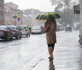 В среду в Петербурге ждут жару и ливень