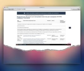 ЗС Петербурга по ошибке опубликовал таблицу принятых законопроектов до завершения голосования по ним