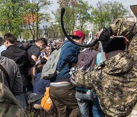 Петербургские казаки не поддержали московских за порку товарищей нагайками