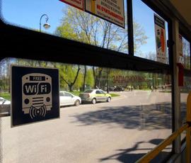 В Петербурге 400 автобусов оборудовали бесплатным Wi-Fi