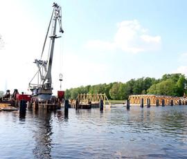Перед ЧМ-2018 в Петербурге разобрали и еще не собрали 2-й Елагин мост