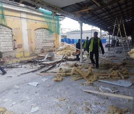 Фото: на Апраксином дворе продолжается снос торговых палаток