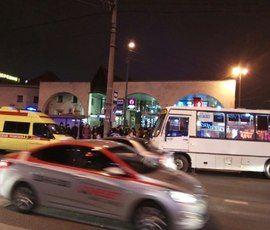 """Очевидцы: маршрутка налетела на пешехода у """"Старой деревни"""""""