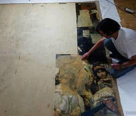 В Русском музее покажут картину, которую никто не видел почти сто лет