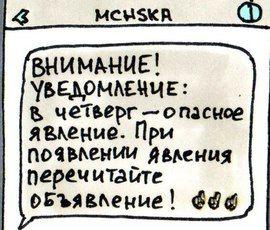 """""""МЧСки"""" петербургского художника покорили сеть"""