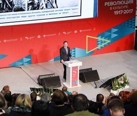 Мединский в Петербурге рассказал о революциях 1917-го и 1991 года