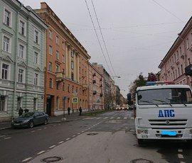Улицу Декабристов расчистили от машин из-за культурного форума