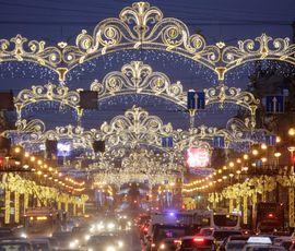 Первого декабря Петербургу включили досрочный Новый год