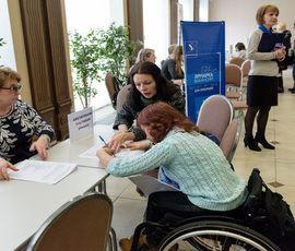 В Петербурге работает более трети инвалидов