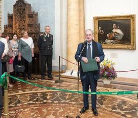 """В Эрмитаже открывается выставка отреставрированного шедевра """"Юноша с лютней"""""""
