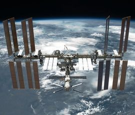 Астронавт показал северное сияние с борта МКС