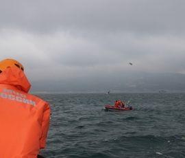 """Со дна Финского залива подняли затонувший корабль """"Монни"""""""