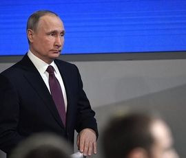 """Путин о лозунге """"Хватит кошмарить бизнес"""": сложный вопрос, не буду скрывать"""