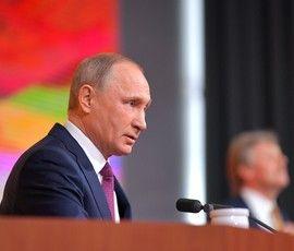 Путин: Россия не будет ввязываться в гонку вооружений