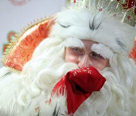 Дед Мороз приготовил подарок для Владимира Путина
