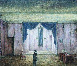 В Эрмитаже открылась выставка главного художника БДТ Эдуарда Кочергина