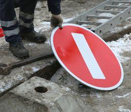 Движение по Масляному переулку ограничат на три недели
