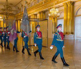 В Эрмитаже провели традиционную церемонию в память об изгнании Наполеона из России