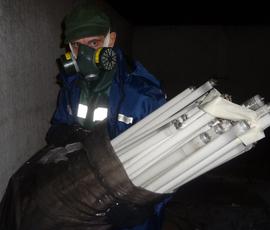 За неделю в Петербурге утилизировали почти 5 кг опасных отходов