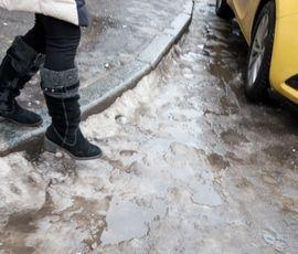Несубботняя погода: дождь и гололед омрачат настроение петербуржцам