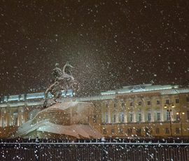 На Петербург идет магнитная буря