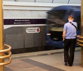 """""""Международная"""", """"Пушкинская"""" и """"Площадь Восстания"""" закрыты для пассажиров"""