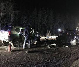 Трассу Ханты-Мансийск-Нягань перекрыли после ДТП с 10 погибшими