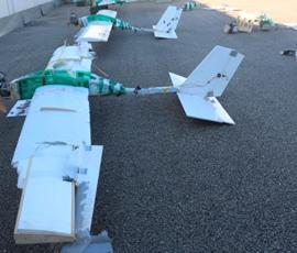 Минобороны показало фото атаковавших базу Хмеймим дронов