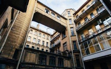 Фасады Дома Бака дождались реставрации