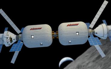 Космических туристов поселят на орбите в надувные отели