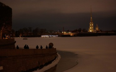 Центр Петербурга погас