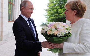 """Яровая отреагировала на статью об """"оскорбительном букете"""" для Меркель"""