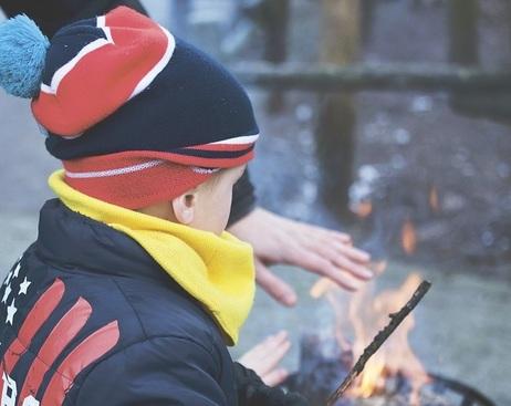 Пожар: что поможет ребенку выжить