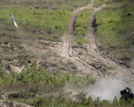 Украина впервые запустила американские комплексы Javelin