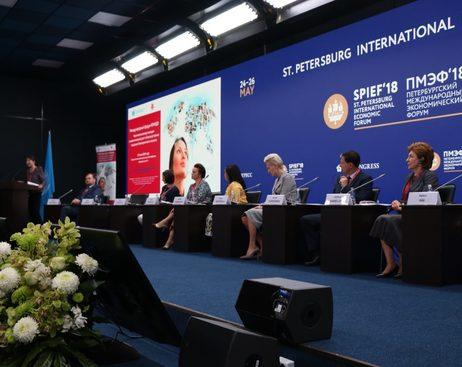 Женщины со всего мира обсудили свои бизнес-планы в Петербурге