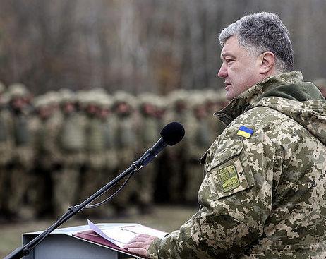 Порошенко решил создать на Украине морскую пехоту