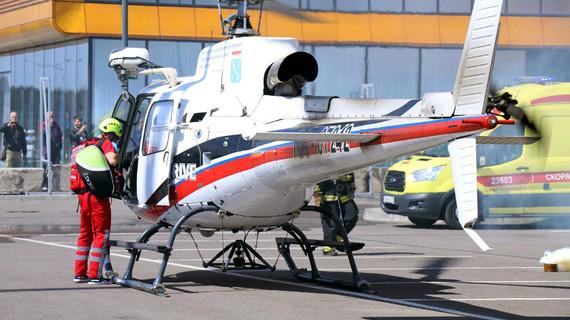 Игрокам ЧМ-2018 в Петербурге предоставят вертолет с врачами