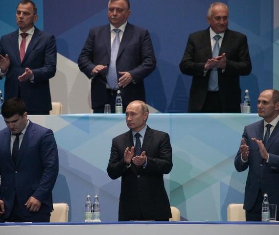 Путин наградил победителей турнира по дзюдо памяти Анатолия Рахлина